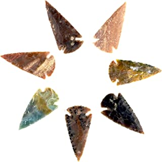 SE7EN CHAKRA Sets of Indian Arrowhead Replica Agate Stone 2