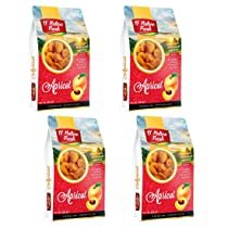 D'nature Fresh Dried Apricots 800g (Khumani Pack of 4 -200g Each)