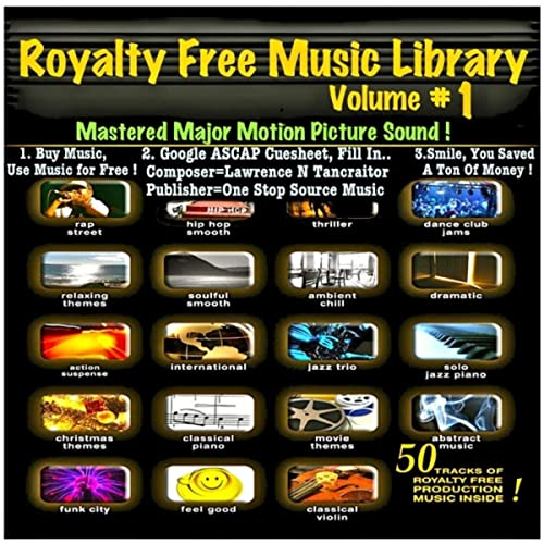 Royalty Free Music Library V1 (50 Songs) by Royalty Free