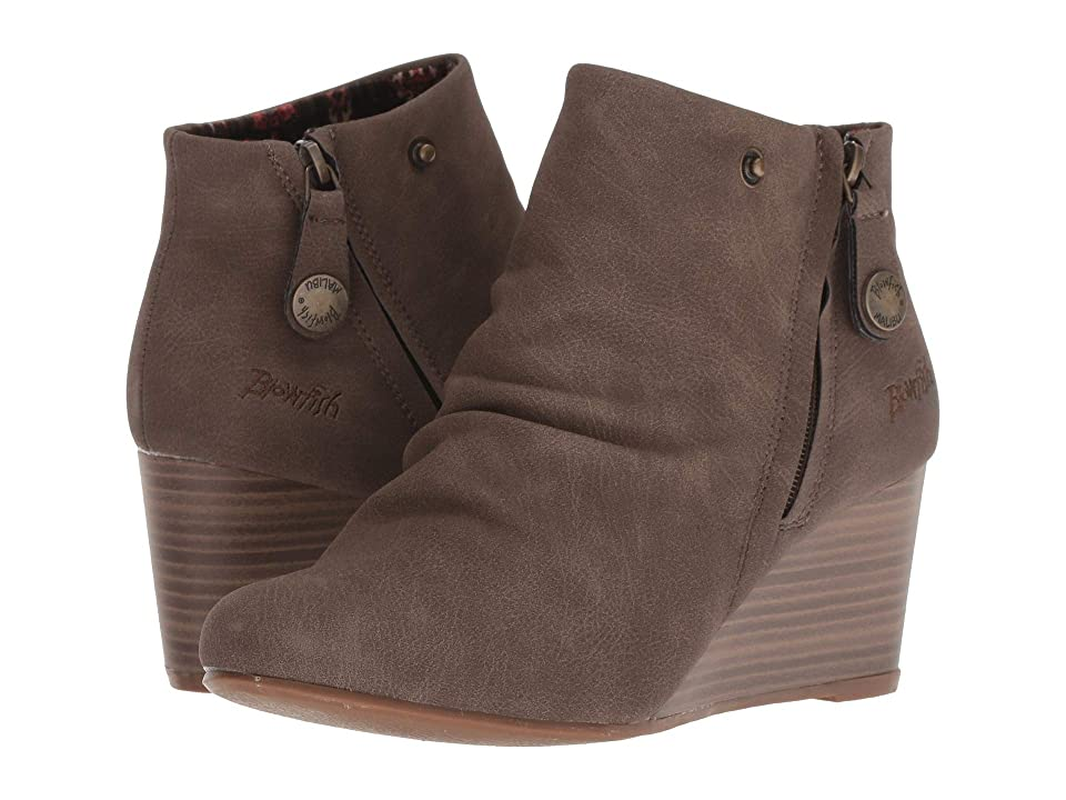 Blowfish Berkeley (Mushroom Rustic Faux Suede) Women