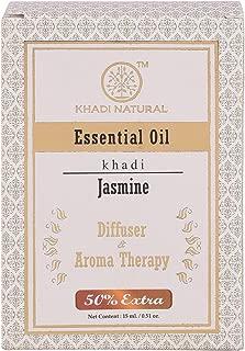 Khadi Natural Jasmine Pure Essential Oil Latest International Packaging (10 ml)