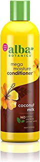 Alba Botanica Drink It Up Coconut Milk Hawaiian Conditioner, Yellow , 12 oz.