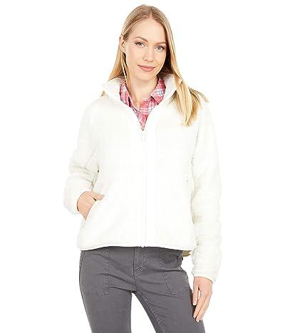 Southern Tide Phoenix Cropped Fleece Jacket (White Alyssum) Women