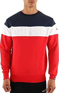 Ellesse Men's Torre Sweatshirt, Red
