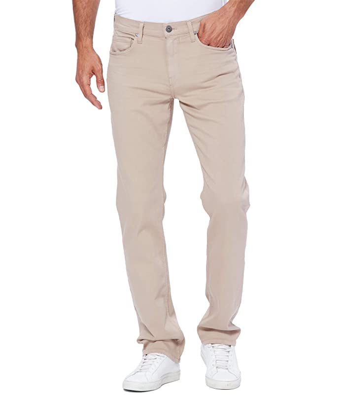 Paige  Normandie Straight Leg in Toasted Almond (Toasted Almond) Mens Jeans