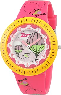 Zoop Analog Multi-Colour Dial Unisex Watch - 26007PP02