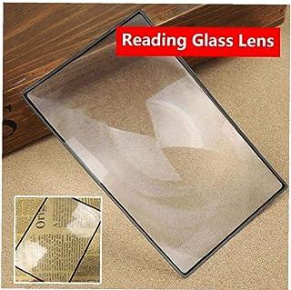 Angoter di Alta qualit/à A4 Pagina Intera Grande Foglio Lente dIngrandimento Aid Lente di Fresnel Nuovi specchi Home Utensili