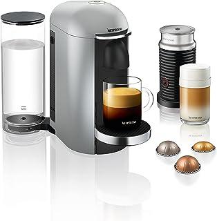 NESPRESSO Vertuo Plus GCB2-BUNDLE SILVER Coffee Machine