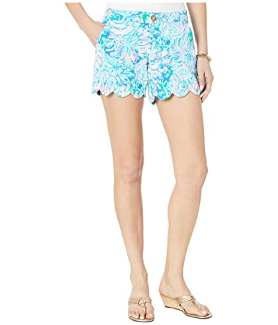 Lilly Pulitzer Buttercup Stretch Shorts (Multi In Full Bloom) Women