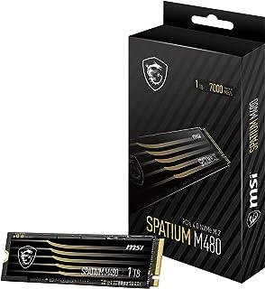MSI M.2 SSD SPATIUM M480シリーズ 1TB S78-440L490-P83 HD3164