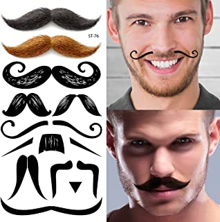 Best mustache tattoo on face Reviews