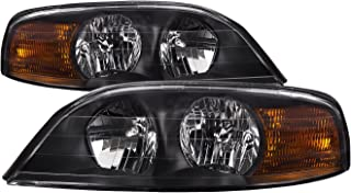 HEADLIGHTSDEPOT RV Headlights Compatible with Holiday Rambler Navigator 02-05 Includes Left Driver and Right Passenger Side Headlamps