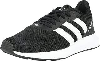 Adidas ORIGINALS Swift Run RF J Black/White Textile Junior Trainers Shoes