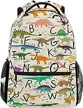 حقيبة ظهر توبرينت للتعليق بالحروف الأبجدية ديناصور حقيبة كتف تراف حقيبة كتف حقيبة نهارية