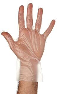 Disposable Food Preparation Poly Gloves 5000 Count - One Size Fits All BPA Free - Food Grade PE Disposable Gloves Latex & ...