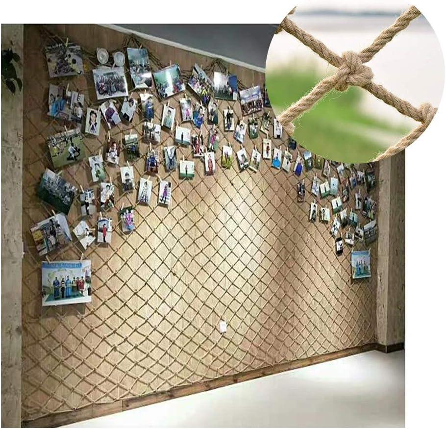 GZHENH Rope Net Decor ,Anti-Fall Latest item Mes Net,Retro 5% OFF Hemp