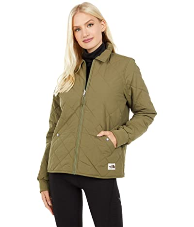 The North Face Cuchillo Jacket (Burnt Olive Green) Women