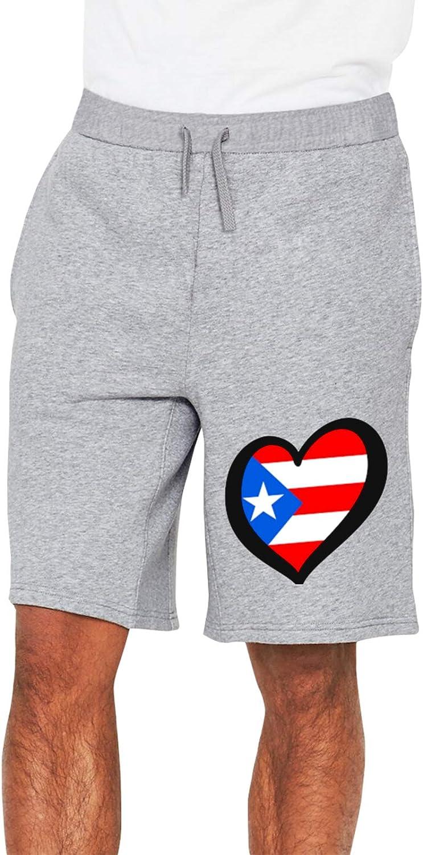 Puerto Rico Max 70% OFF Flag Mens Track Pants Workout Pocket with 1 El Paso Mall Shorts 2