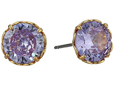 Kate Spade New York That Sparkle Round Earrings (Lilac) Earring