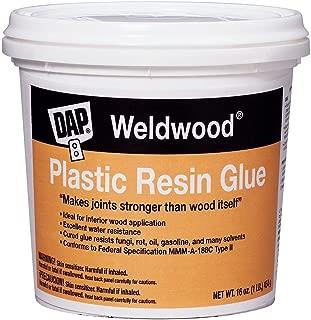 Dap 00203 Weldwood Plastic Resin Glue, 1-Pound