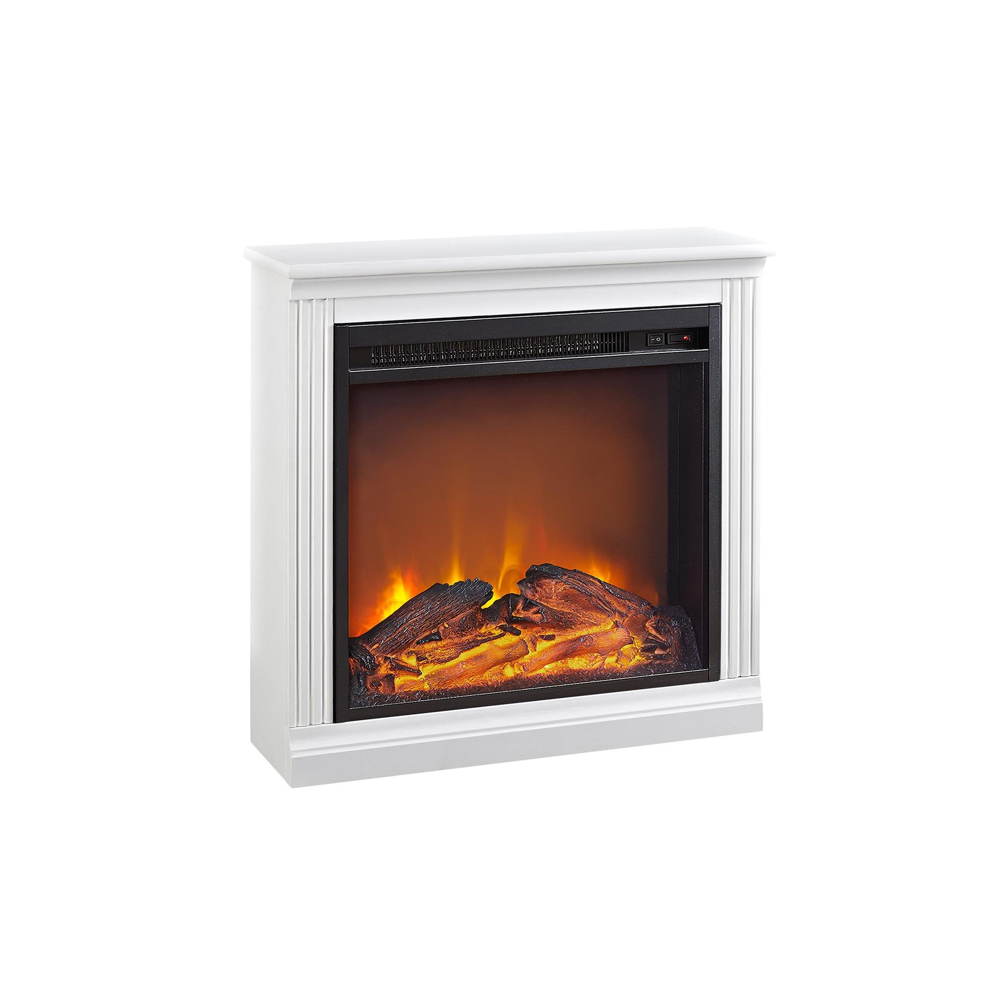 Ameriwood Home Bruxton Simple Fireplace