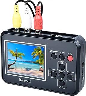 DIGITNOW! ビデオ/VHS 8mm ダビング SDカード保存 パソコン不要 ビデオキャプチャー、テレビ DVD VHS コンポジット レコーディングアダプタ