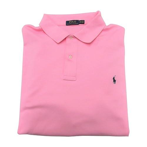 2efb97b3 Ralph Lauren Men's Big and Tall Interlock Polo Shirt, Pony Logo, Classic Fit