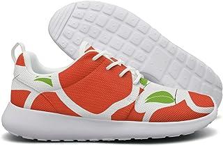 YSLC Vintage Mushrooms Running Shoes Lightweight Men Sneaker Trail Running Soft Sole Shoes