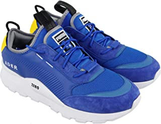 Rs-0 Ader Error Mens Blue Leather Athletic Lace Up Running Shoes 11.5