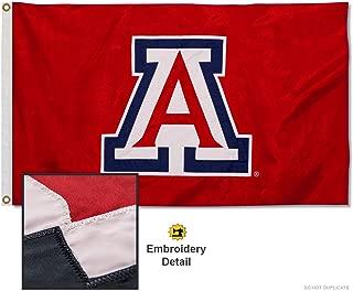 University of Arizona Embroidered and Stitched Nylon Flag