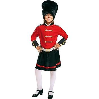 My Other Me Me-200943 Policía Disfraz de guardia inglesa para niña ...