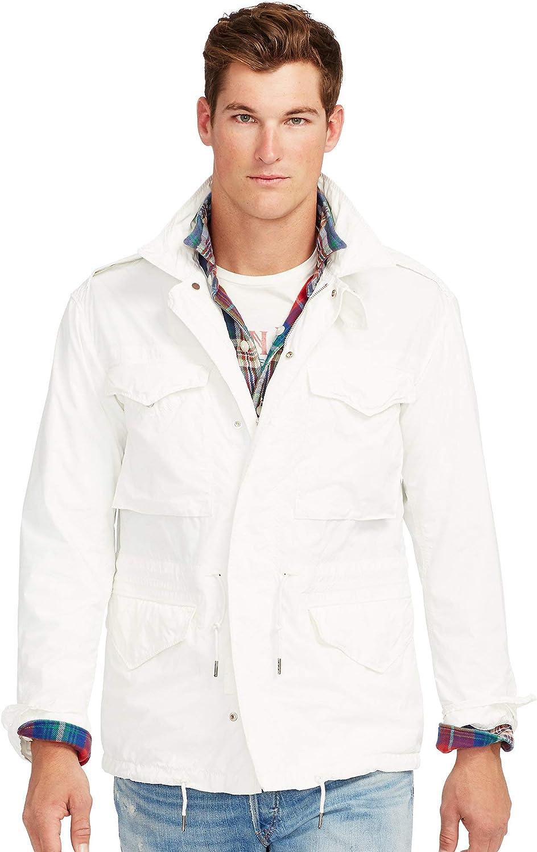 Polo Ralph Lauren Men's Embroidered Combat Jacket