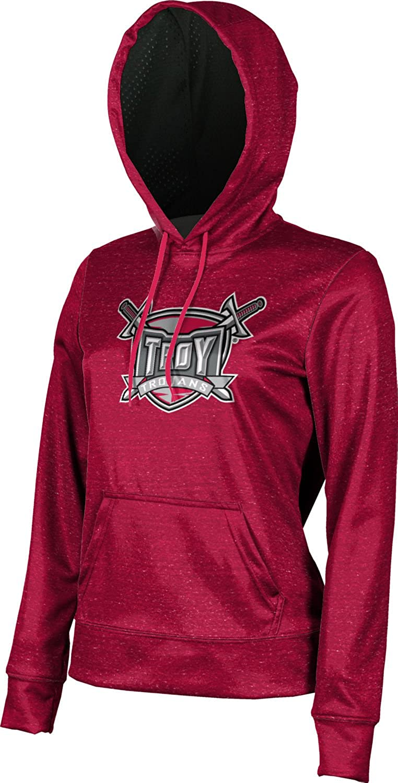 Troy University Girls' Pullover Hoodie, School Spirit Sweatshirt (Heather)