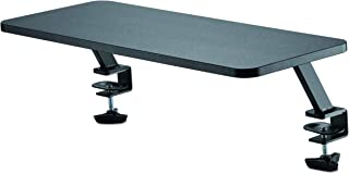 """StarTech.com Monitor Riser Stand - Clamp-on Monitor Shelf for Desk - Extra Wide 25.6"""" (65 cm) for up to 34"""" Monitors - Bla..."""
