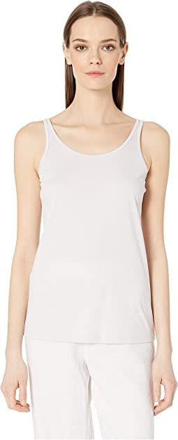 Scoop Neck Long Slim Cami