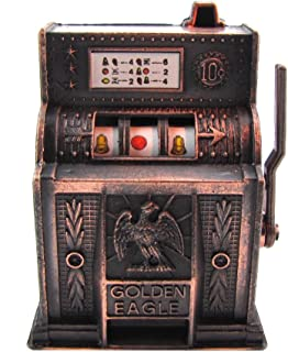 Metal 1 Arm Bandit Mini Slot Machine Die Cast Pencil Sharpener Casino Souvenir