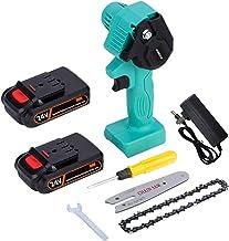 N-B Mini sierra eléctrica de 4 pulgadas, 24 V, para árbol frutal, carpintería, herramientas de jardín con baterías, cortadores de madera de mano