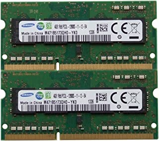Samsung ram Memory 8GB kit (2 x 4GB) DDR3 PC3-12800,1600MHz for 2012 Apple MacBook Pro's, iMac's and 2011/2012 Mac Mini's