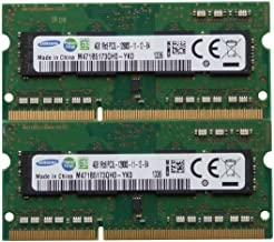 Samsung ram Memory 8GB kit (2 x 4GB) DDR3 PC3-12800,1600MHz for 2012 Apple MacBook Pro's, iMac's and 2011/2012 Mac Mini's