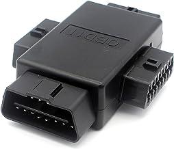 Goliton/® OBD OBD2 16 pin Adattatore diagnostico del connettore per Mazda 17 Pin