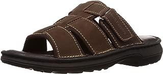 Hush Puppies Men's Rockford Leather Flip Flops Thong Sandals