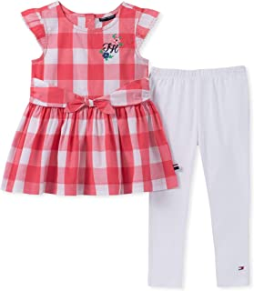91c5b6bb700f6 Tommy Hilfiger Baby-Girls 2 Pieces Legging Set Pants Set