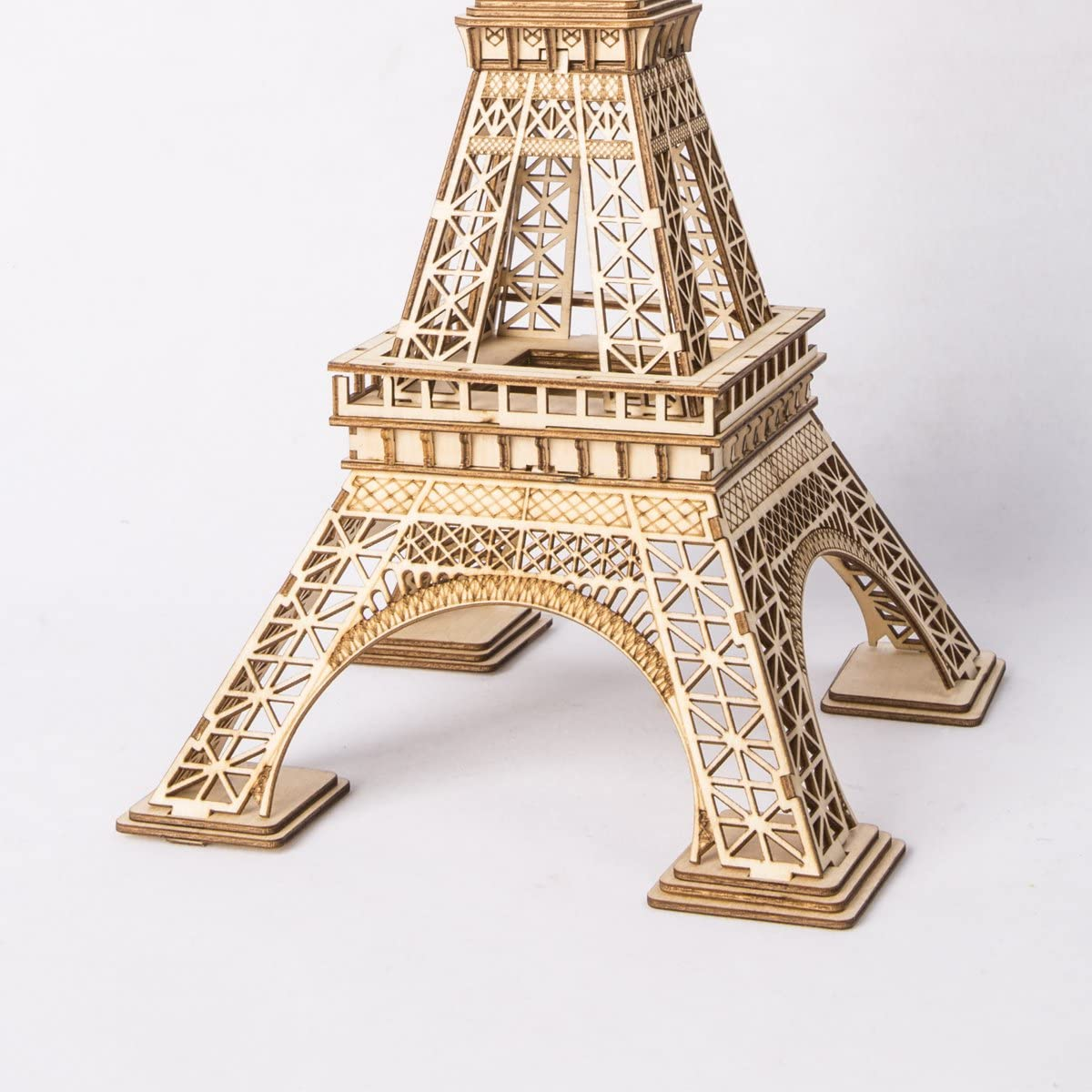 Eiffel Tower Model Kits to Build RoWood 3D Wooden Puzzle Toy Gift for Kids /& Adults 122 PCS