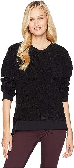 Shearling Sweatshirt