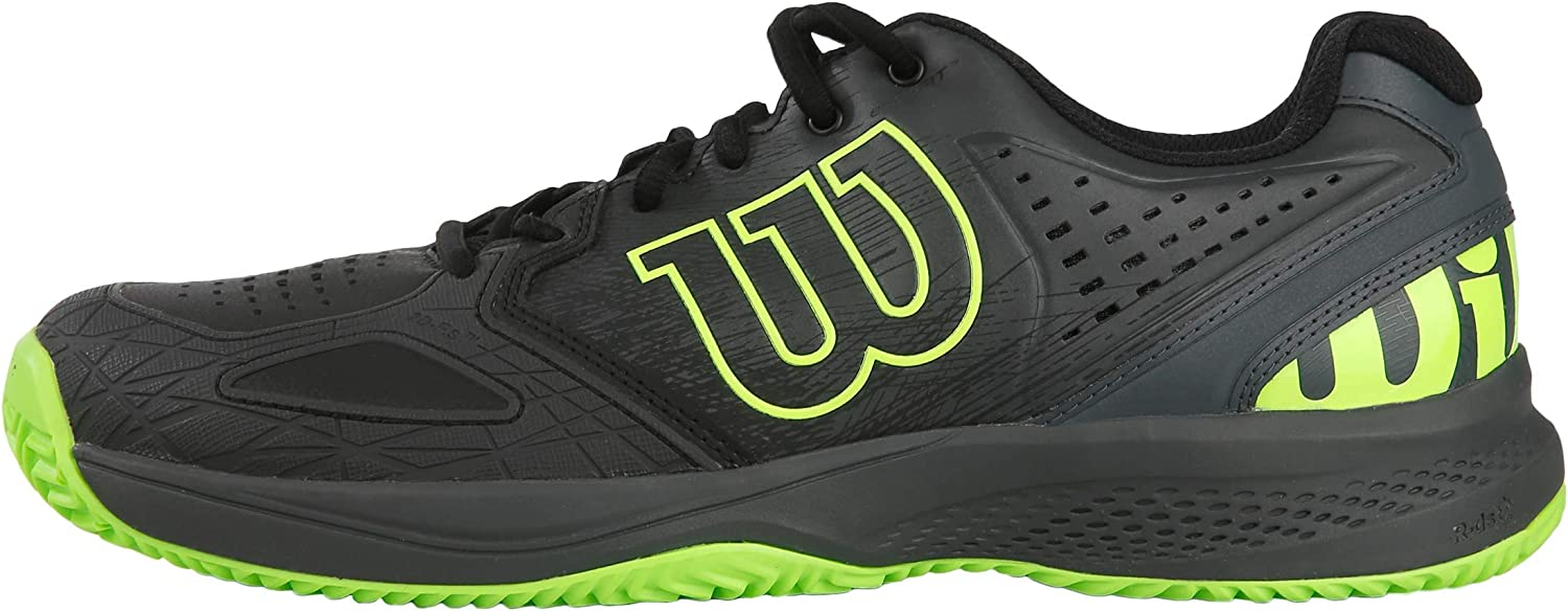 Wilson Men's Tennis shoes, KAOS COMP 2.0, Synthetic, for All Surfaces, for All Types of Player