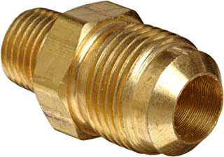 Anderson Metals Brass Tube Fitting, Half-Union, 3/8