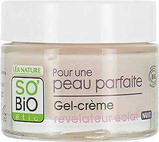 SO'BiO étic Peau Parfaite Night Cosmos Organic Radiance Revealing Gel/Cream, 50 ml