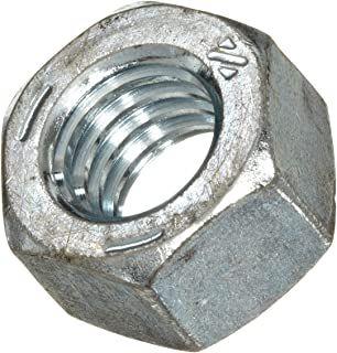 #12-24 Grade 2 Finished Hex Nuts Zinc Plated Coarse Thread Pick Quantity