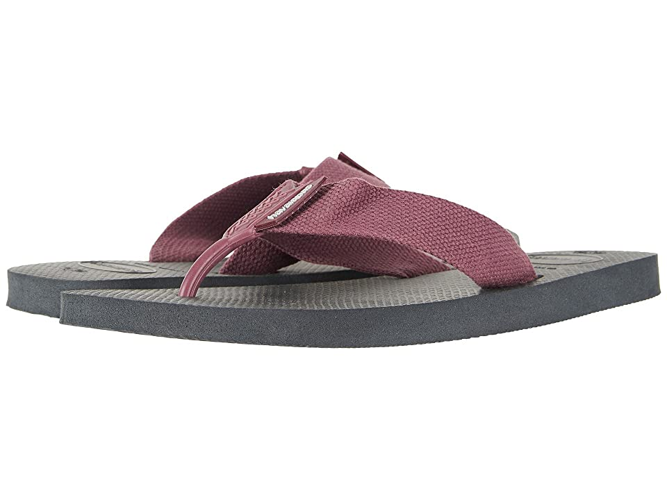 Havaianas Urban Basic Flip Flops (Grey/Wine) Men