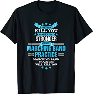 Marching Band Tshirt Funny Band Geek Director Gift